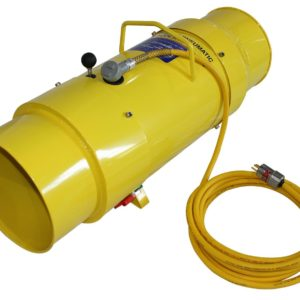 TB-12-EXP 12 INCH TORNADO BLOWER WITH EXPLOSION PROOF 1 HPA, 110 VOLT, 50/60 HZ ELECTRIC MOTOR.